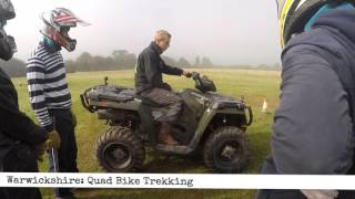 Warwickshire: Quad Bike Trekking (60 second Review)