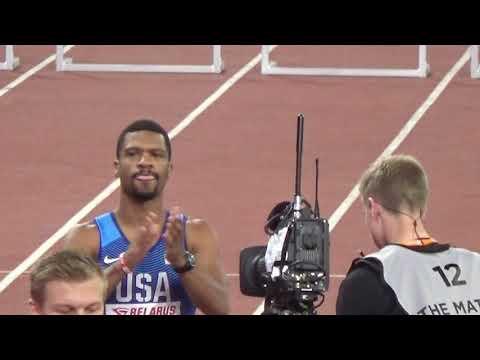 400 m MEN HURDLES 2019 EUROPE vs USA athletics match F NAL  Матч Европа vs США Мужчины  400м