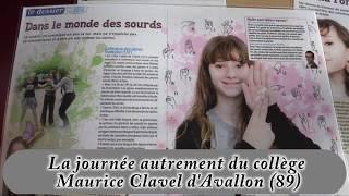 La journée autrement du collège Maurice Clavel d'Avallon (89)