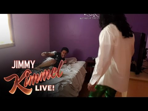 YouTube Challenge - Hey Jimmy Kimmel, I Served a Snowball in Bed