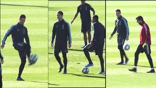 Ronaldo Shows Rare Lack Of Control With Ball As Juventus Train Ahead Of UCL Game   Sports Tak