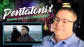 "Pentatonix Reaction | ""Where Are You Christmas?"" (Official Video)"