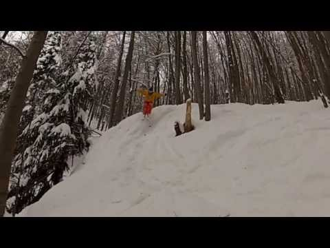 Jasenova Free Ski Team :) - Freeride skiing Slovakia 2012