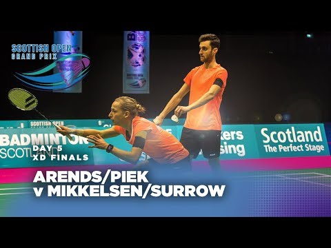 Scotish Open 2017 | Mixed Doubles Final: Arends/Piek v Mikke