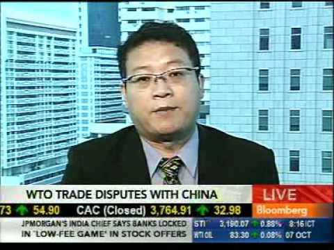 Wang Jiangyu on China & the WTO, interview with Bloomberg