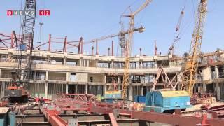 Строительство Ледовой арены в Алматы к Универсиаде 2017, Олимпиаде 2022