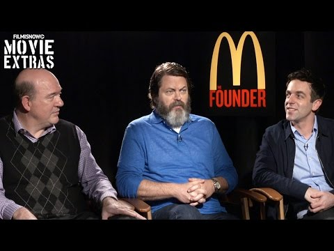 The Founder 2017 John Carroll Lynch, Nick Offerman and B.J. Novak talk about the movie