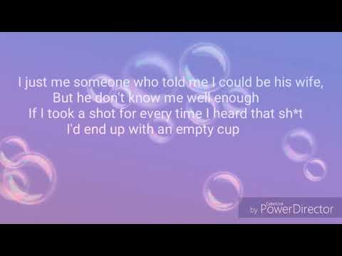 Diamond White - Empty Cup (Lyrics)