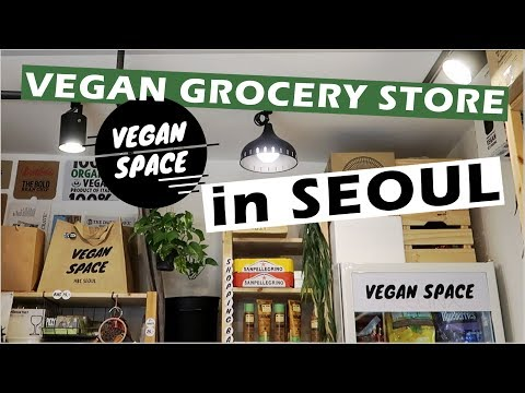VEGAN SPACE | Organic Vegan Grocery Store in SEOUL, KOREA