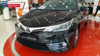 Giới thiệu Toyota Corolla Altis 2.0V Luxury 2018