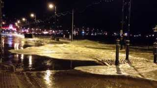 Scarborough Seafront Flood 5 December 2013