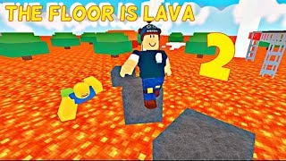 🔴ROBLOX WITH MY WOMAN AND SUBSCRIBERS THE FLOOR IS LAVA🙉