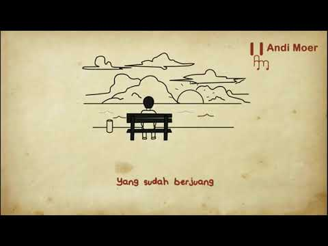 Reff Menunggu Kamu (Anji) Animasi Lyric