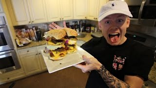 MOST INSANE BURGERS EVER!!!