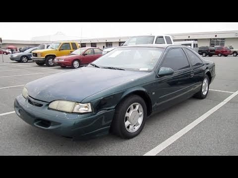 1995 Ford Thunderbird LX V8 Start Up, Engine, And In Depth Tour
