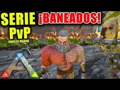 NOS BANEA EL ADMIN !!! #11  SERVER PvP RAGNAROK SERIE ARK SURVIVAL EVOLVED