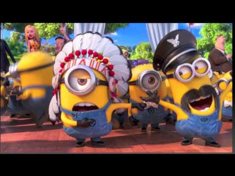Despicable Me 2 - Minions I Swear (Underwear), YMCA, Another Irish Drinking Song, Banana Potato Song