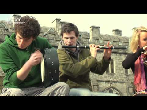St Patrick's week on the Quad - Traditional music at University College Cork