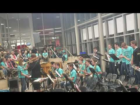 Linn Mar High School Colton Center Jazz Ensemble - The Chicken