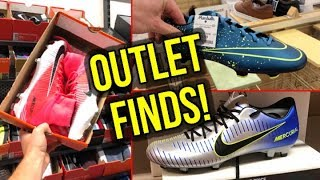 SO MANY MERCURIALS! *AMAZING OUTLET SHOPPING FINDS*