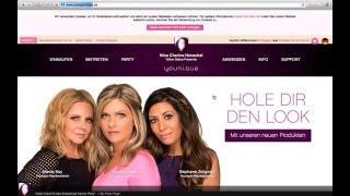 Wie kaufe ich auf einem Online Shop von Younique ein die Erklärung