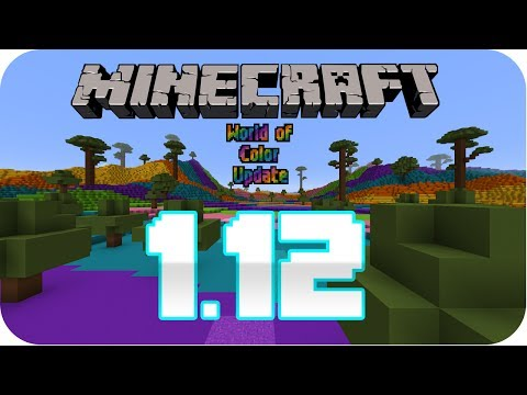 MINECRAFT 1.12 || THE WORLD OF COLOR UPDATE || TODO || review en Español