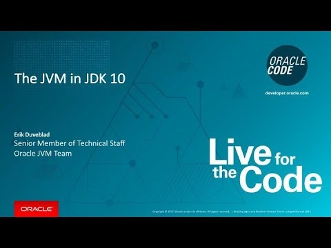 The JVM In JDK 10