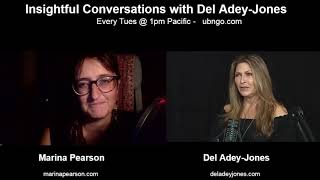 Marina Pearson on Insightful Conversations with Del Adey-Jones