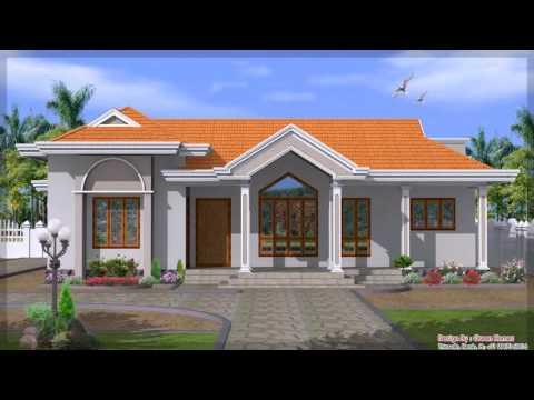 Lovely Exterior House Design One Floor