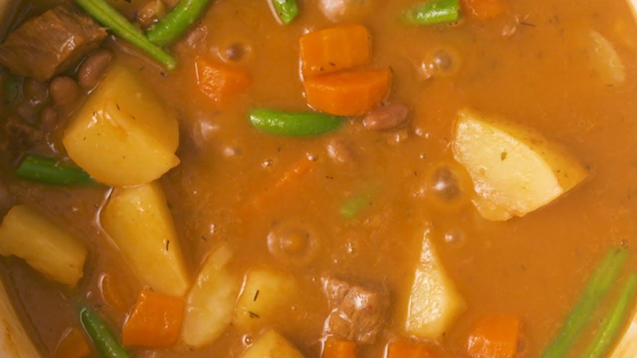 Creamy Cremora Samp Beef Stew Foodiesofsa