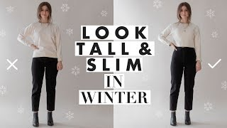 How to Look Taller & Slimmer – Petite Tips for Wearing Winter Clothes | Dearly Bethany