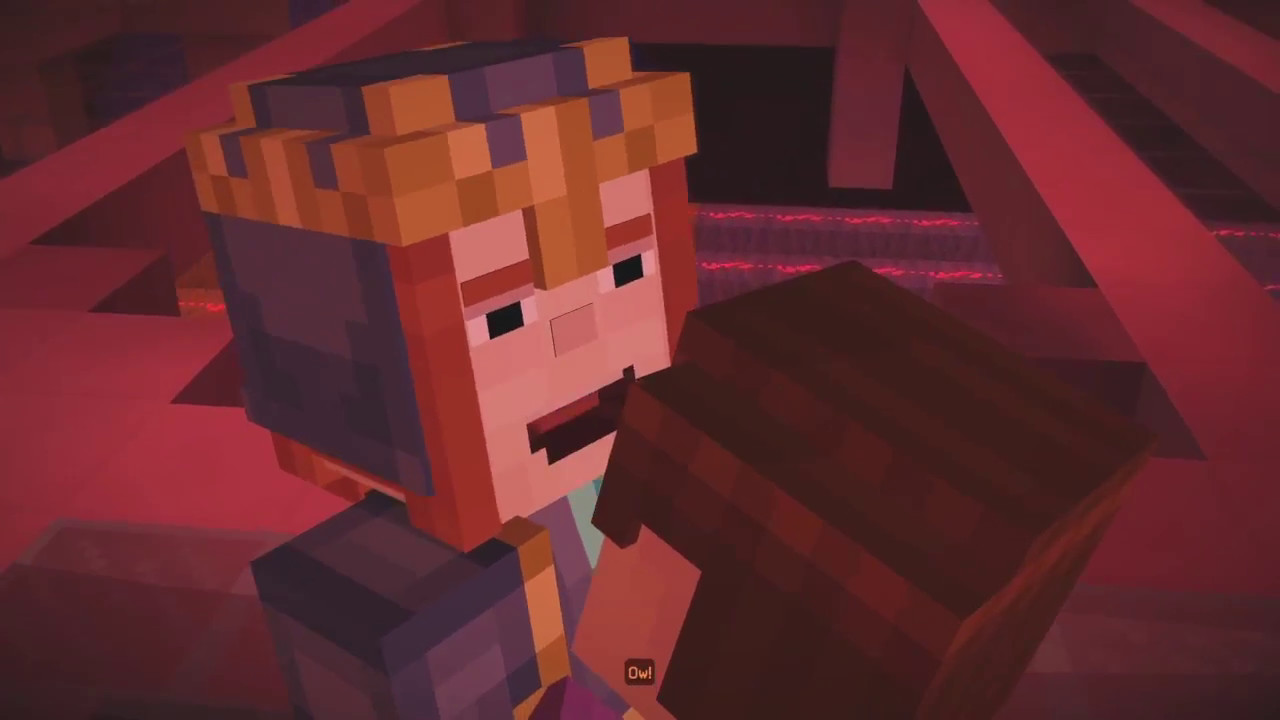 Minecraft Story Mode The Jesse And Petra Hug