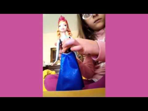 Bambola Anna Mattel review / recensione *** by Sarah Beatrice
