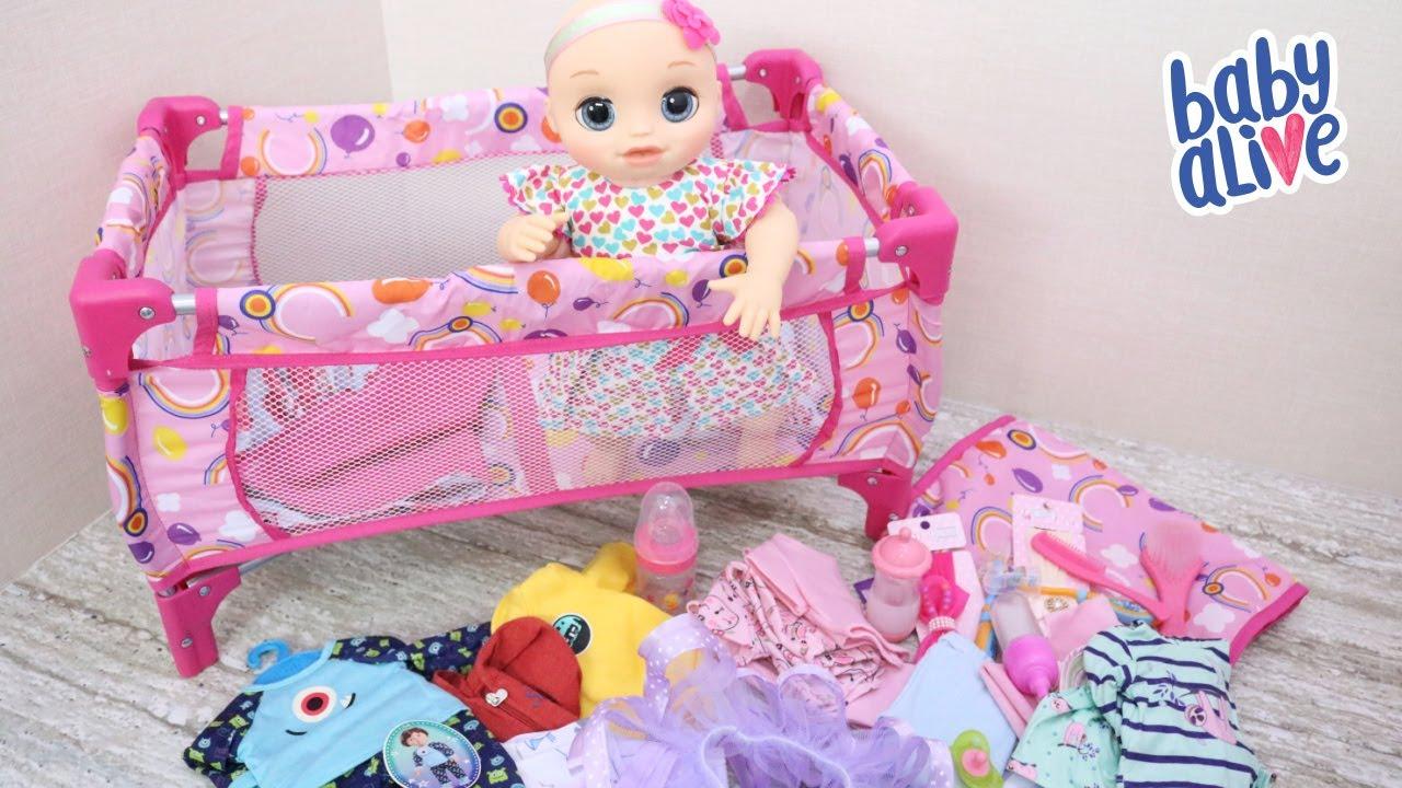 Download BABY ALIVE HANNA MEU QUERIDO BEBÊ VEIO MOSTRAR UMA PARTE DO SEU ENXOVAL