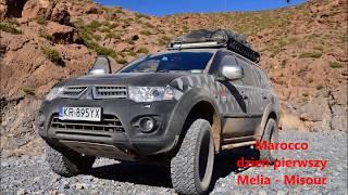 Marocco II - Wyprawa sylwestrowa 4x4 - Mellila - do fortu - 4x4 - BG Hawranki