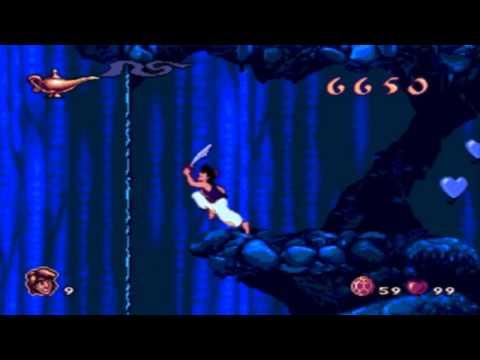 [Sega Genesis] - Aladdin - Level 5 - Cave of Wonders