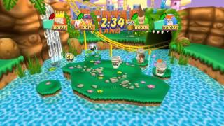 Dolphin Emulator 4.0-3482 | Nickelodeon Party Blast [1080p HD] | Nintendo GameCube