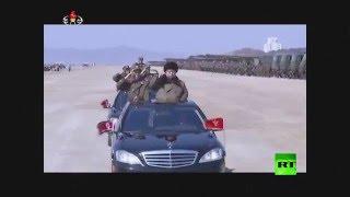 كيم جونغ أون يشرف على التدريبات العسكرية للجيش الكوري الشمالي