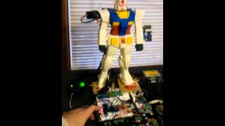 Talking Gundam Robot