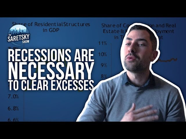Recessions are Necessary to Clear Excesses