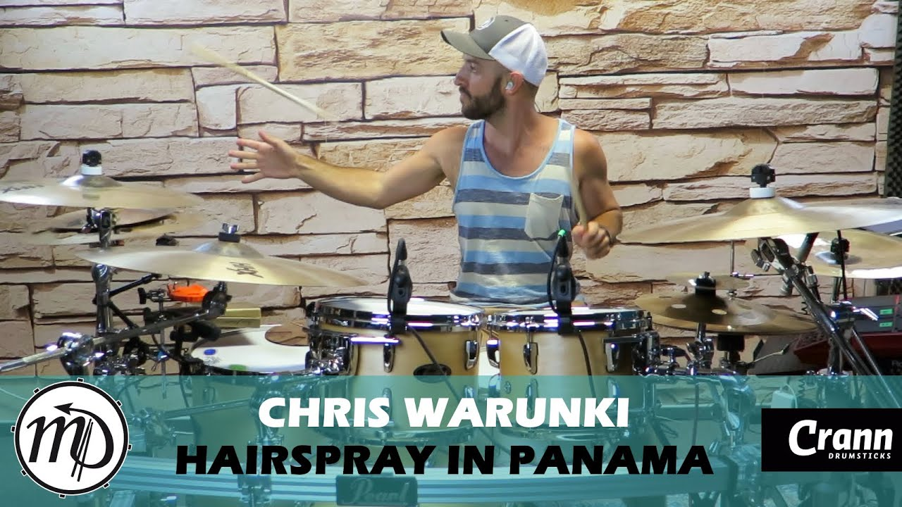 Hairspray in Panama - Drum Cover Drumeo (Classic Rock) PEARL Maple Gum