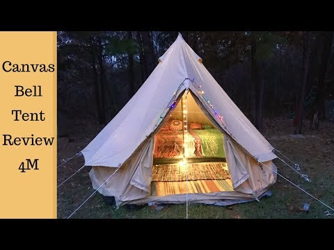 Canvas Bell Tent Full Review 4M