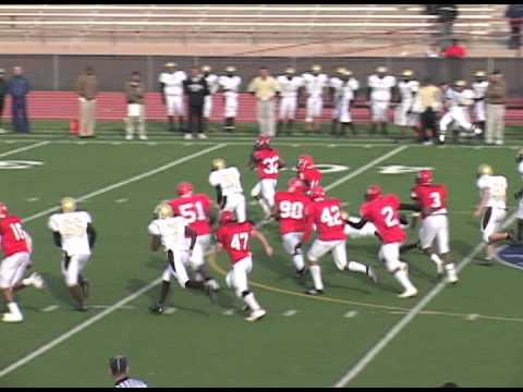 Greatest football Plays 68 yard Interception Touchdown - Denver East High School, CO.mov