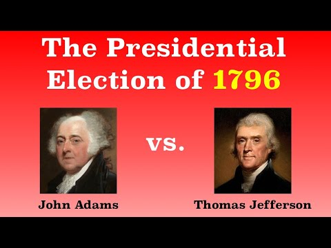 The American Presidential Election of 1796