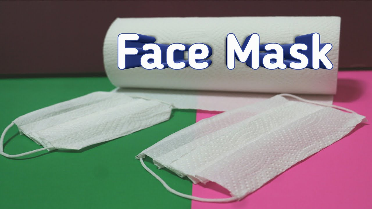 How to Fold Tissue Paper Face Mask Can't Protect You From Coronavirus - Tissues Mask Cheap Pric