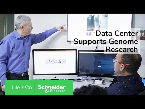 Ground Breaking Genome Research Analytics Supported by Prefabricated Data Centre