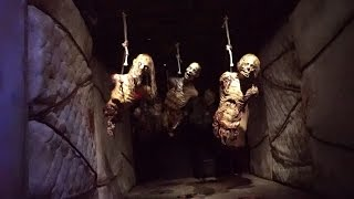 The Walking Dead Haunted Attraction Full POV   Universal Studios Hollywood