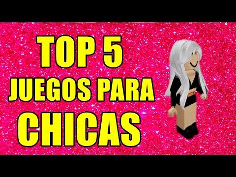 Top 5 Los Mejores Juegos Para Chicas En Roblox Youtube