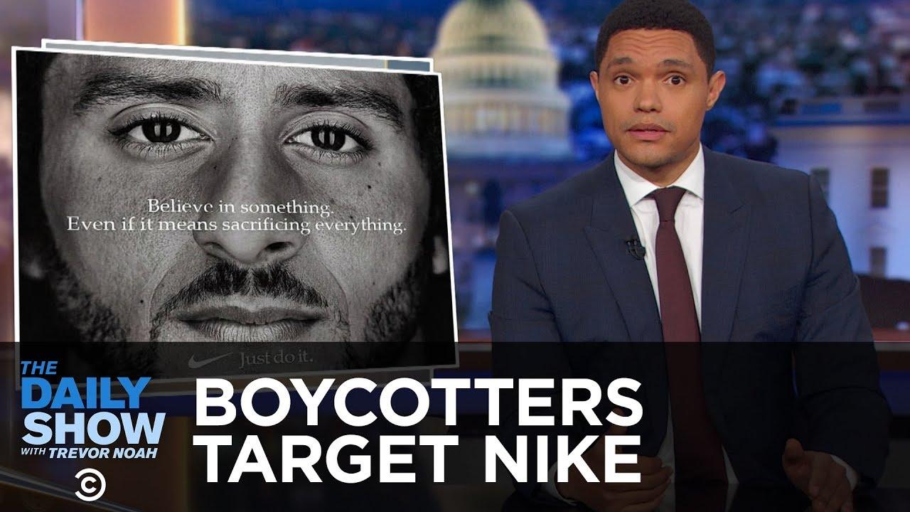 Boycott Season Hits Nike, The New Yorker and Ryan Gosling   The Daily Show