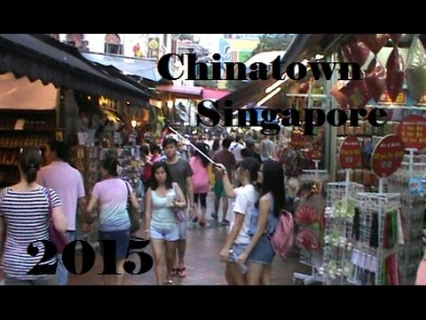 Shopping in Chinatown Singapore